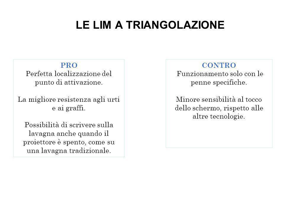 LE LIM A TRIANGOLAZIONE