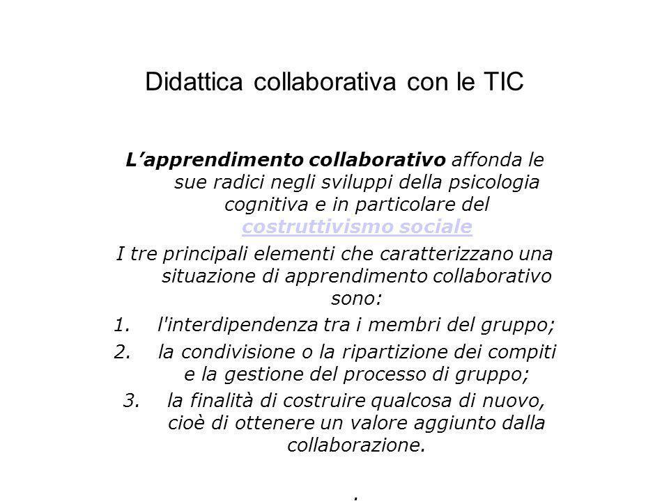Didattica collaborativa con le TIC