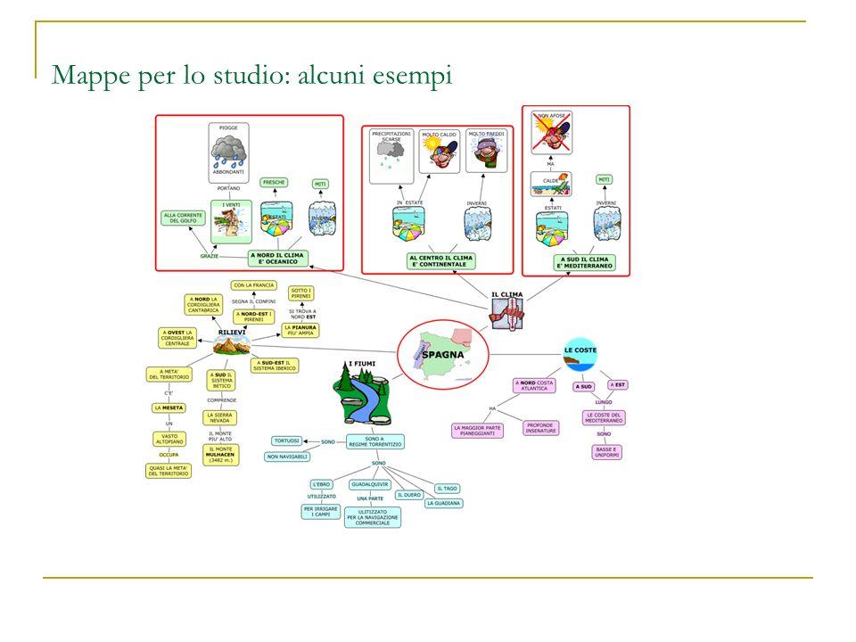 Mappe per lo studio: alcuni esempi