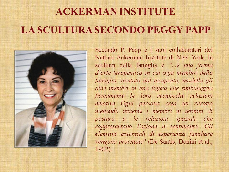 LA SCULTURA SECONDO PEGGY PAPP