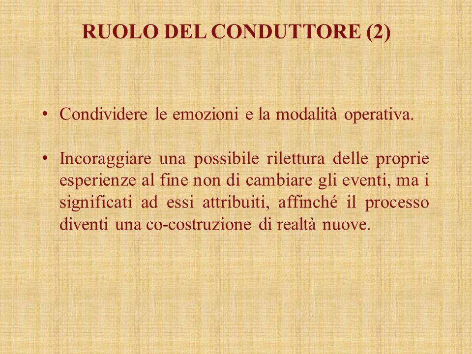 RUOLO DEL CONDUTTORE (2)