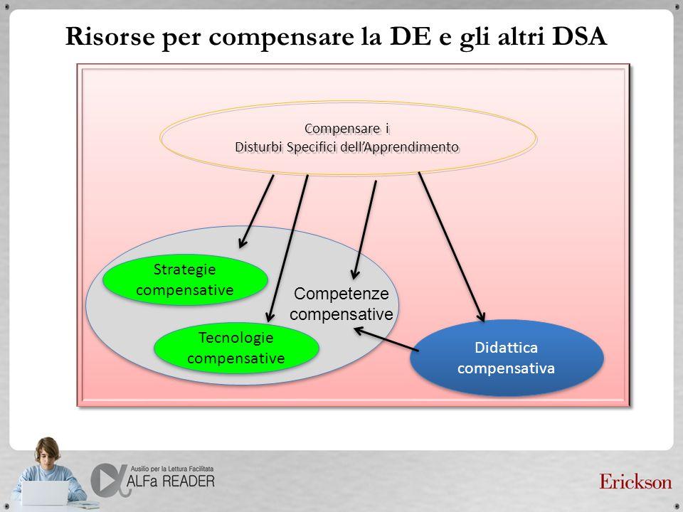 Risorse per compensare la DE e gli altri DSA