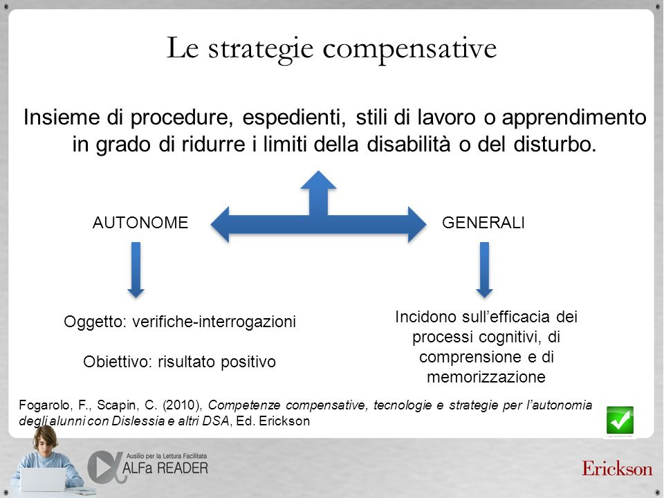 Le strategie compensative