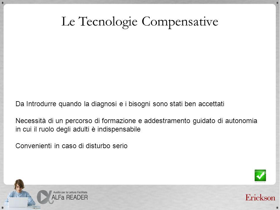 Le Tecnologie Compensative