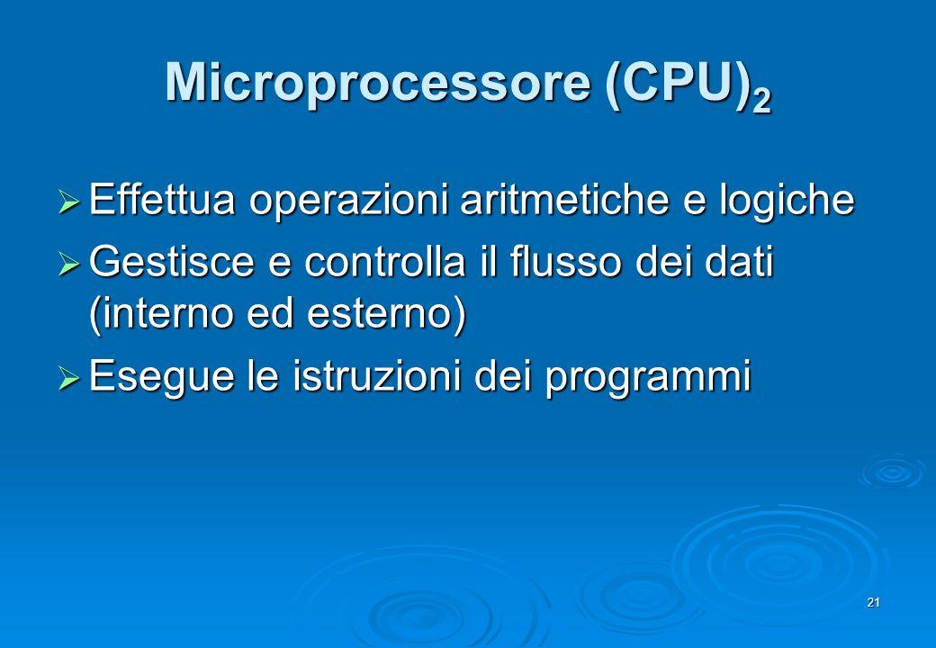 Microprocessore (CPU)2