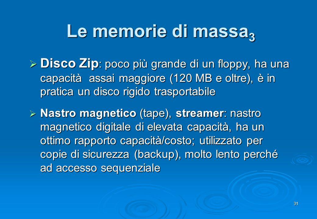 Le memorie di massa3