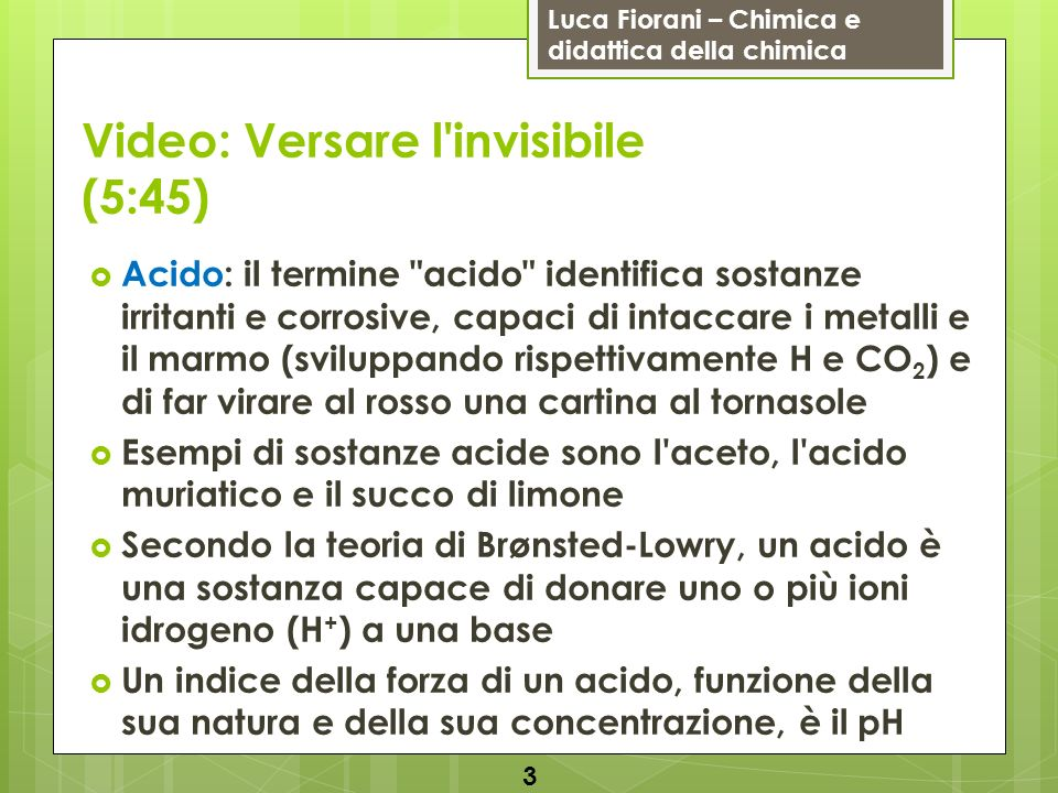 Video: Versare l invisibile (5:45)