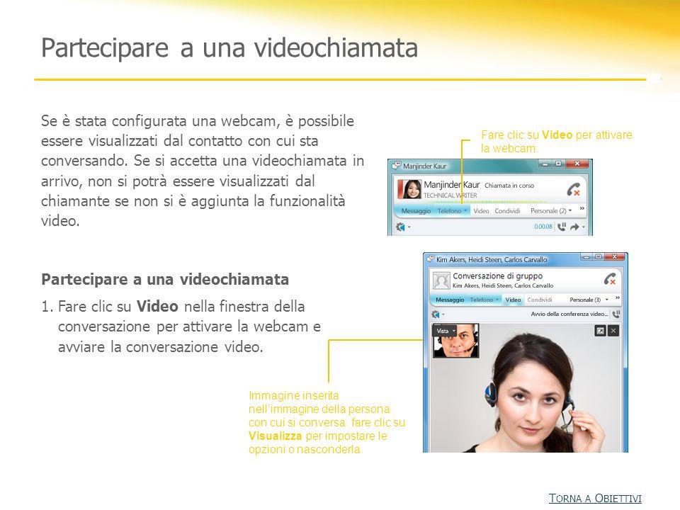 Partecipare a una videochiamata