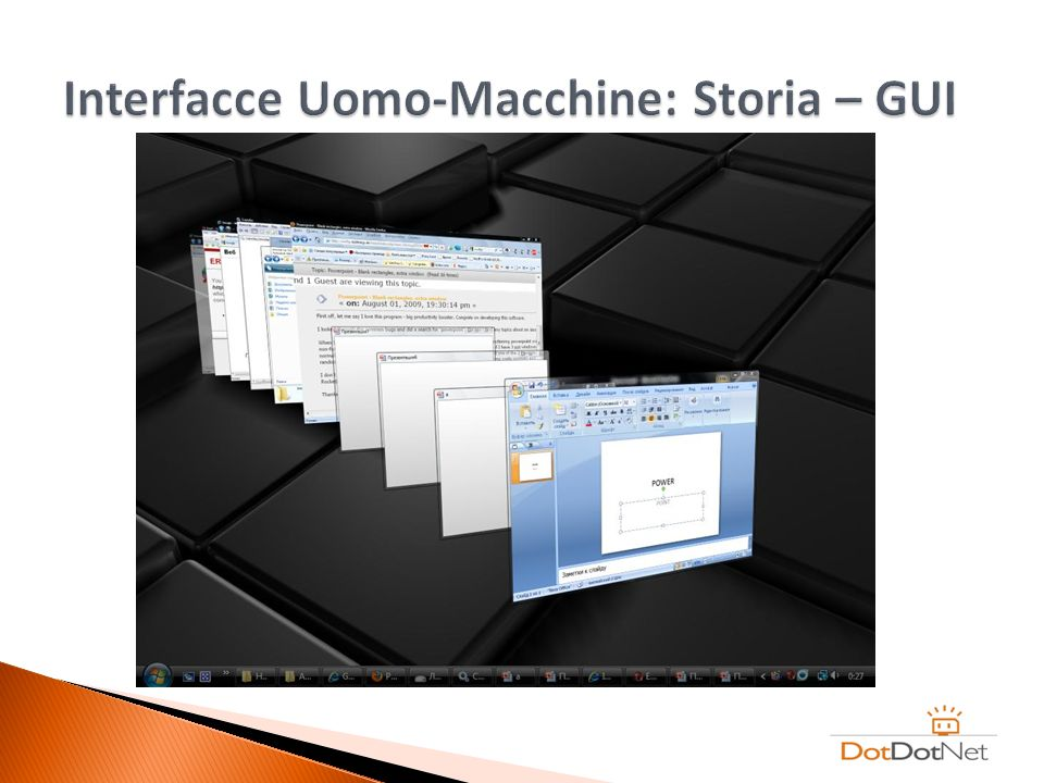 Interfacce Uomo-Macchine: Storia – GUI