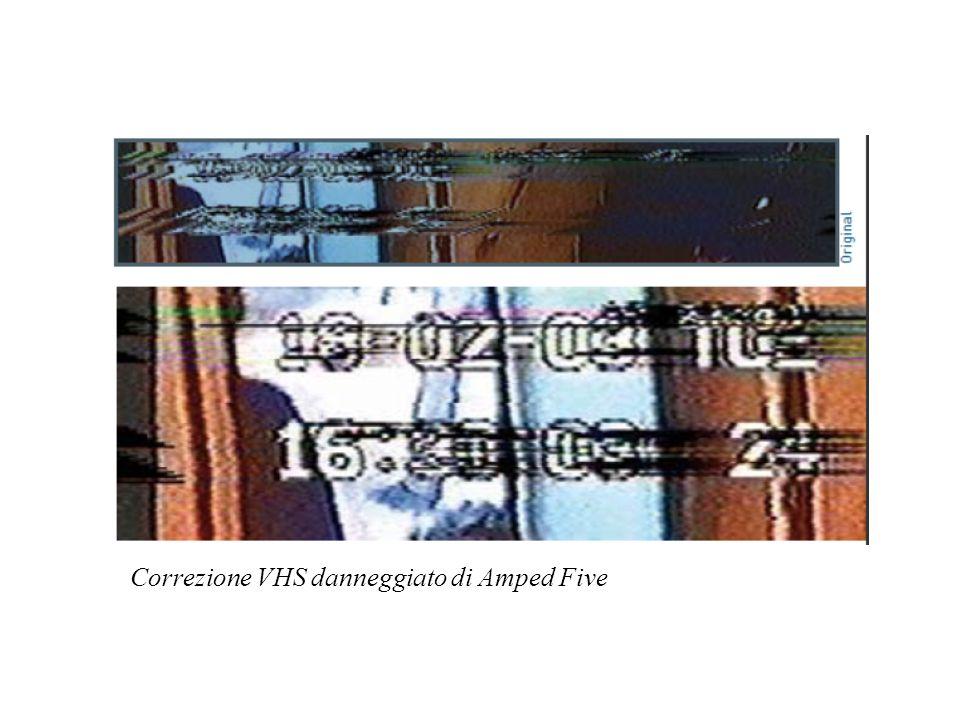 Correzione VHS danneggiato di Amped Five