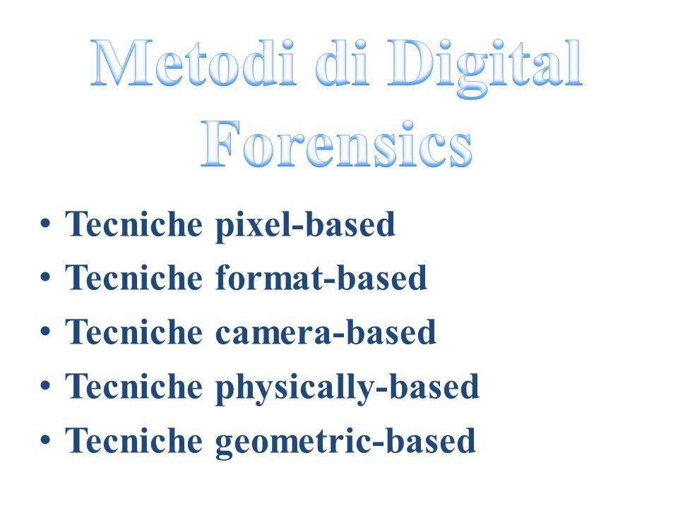Metodi di Digital Forensics