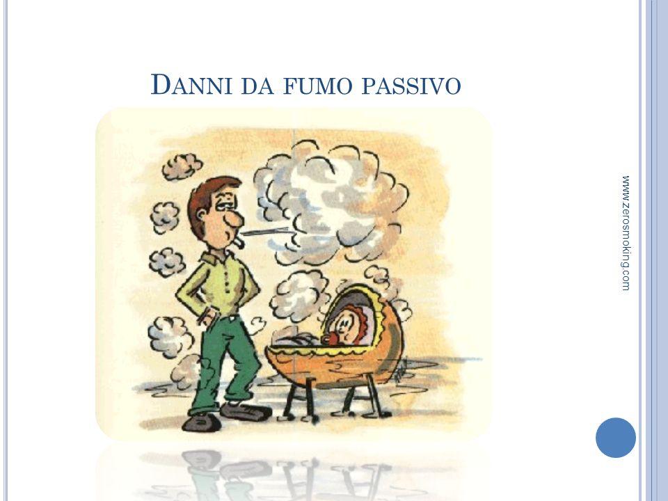 Danni da fumo passivo www.zerosmoking.com