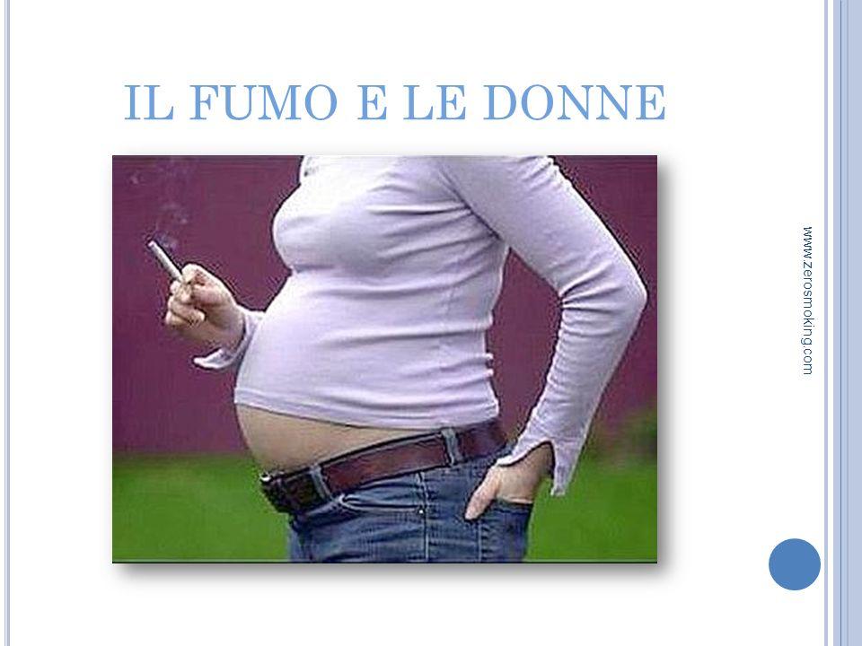 IL FUMO E LE DONNE www.zerosmoking.com