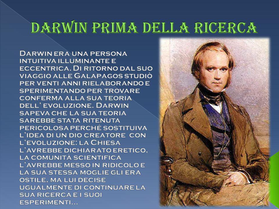 Darwin prima della ricerca