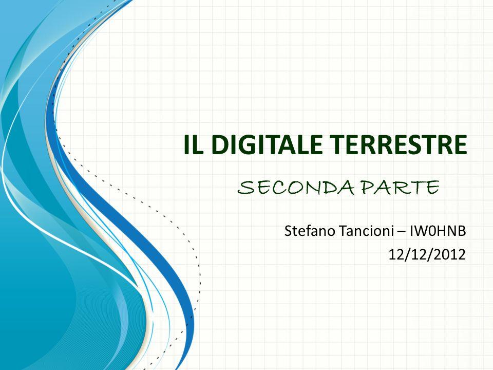 Stefano Tancioni – IW0HNB 12/12/2012