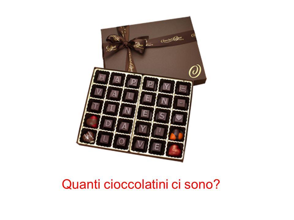 Quanti cioccolatini ci sono