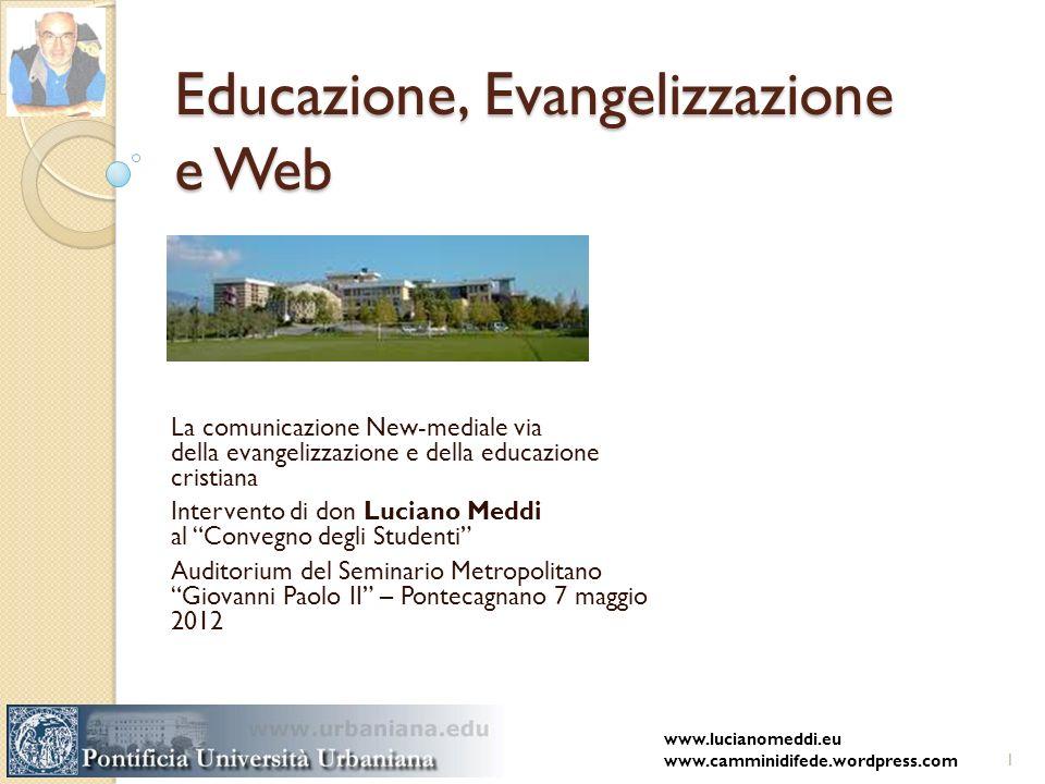 Educazione, Evangelizzazione e Web