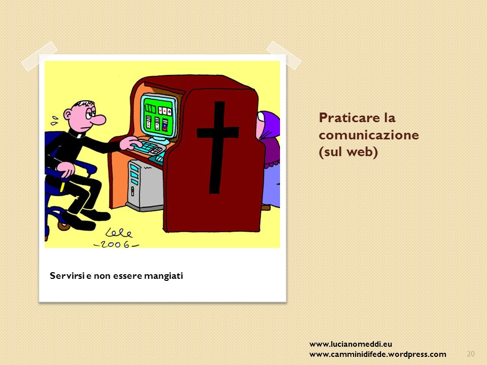 Praticare la comunicazione (sul web)