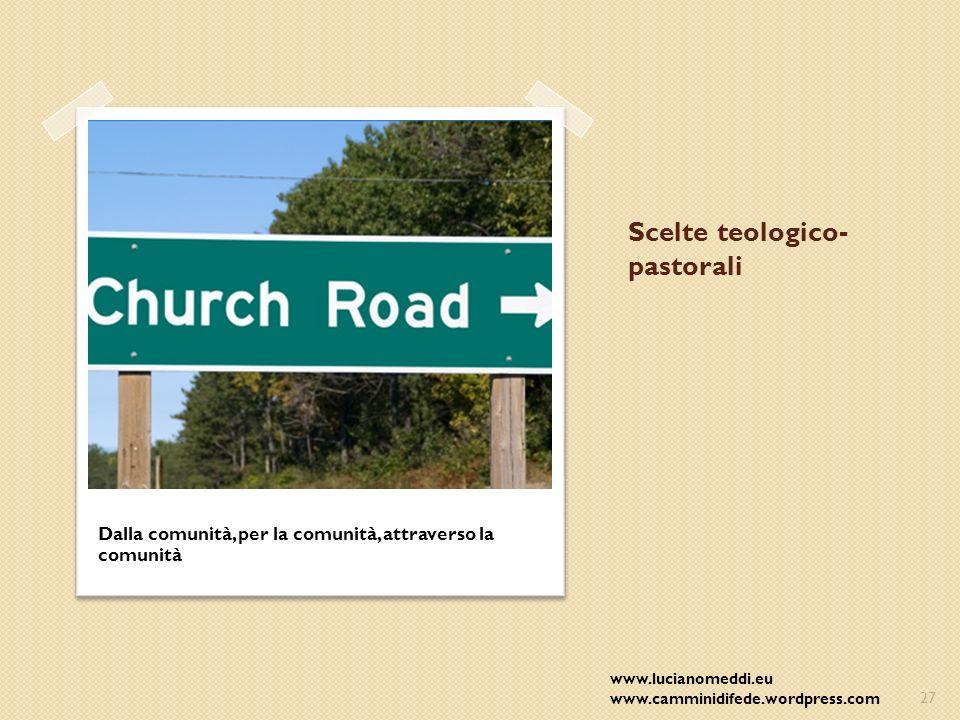 Scelte teologico-pastorali