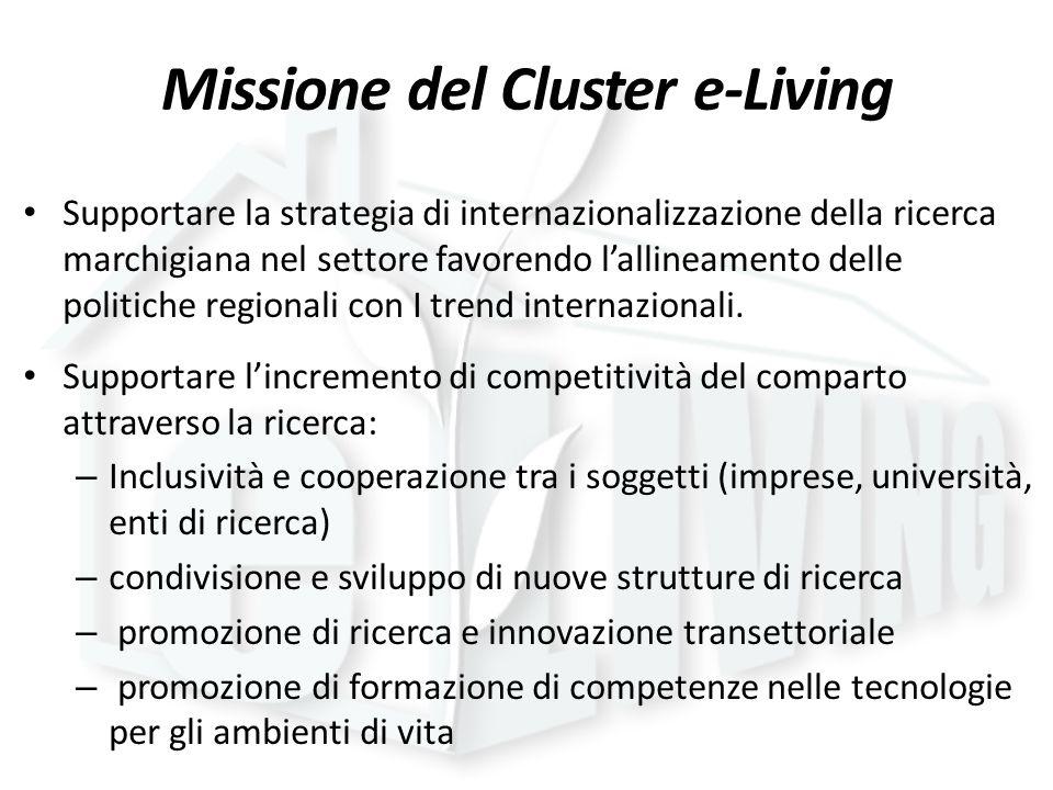 Missione del Cluster e-Living