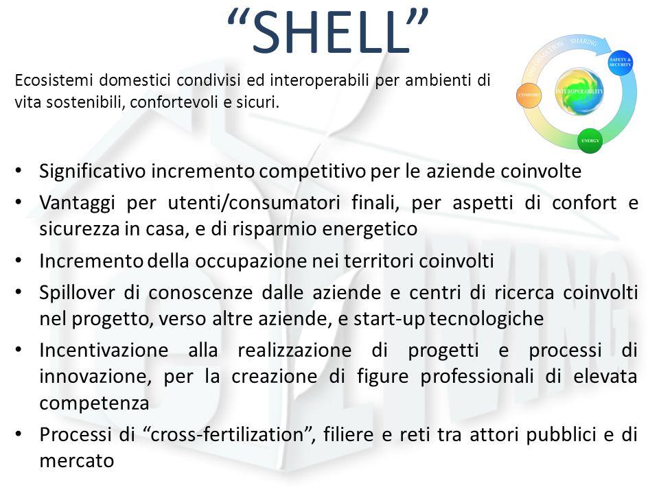 SHELL Significativo incremento competitivo per le aziende coinvolte