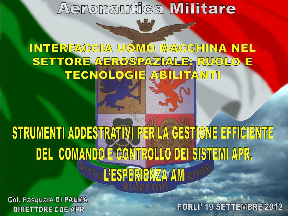 Aeronautica Militare Col. Pasquale DI PALMA FORLI' 19 SETTEMBRE 2012