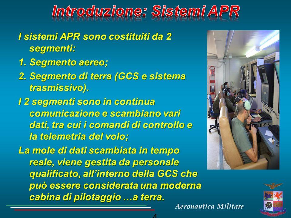 Introduzione: Sistemi APR