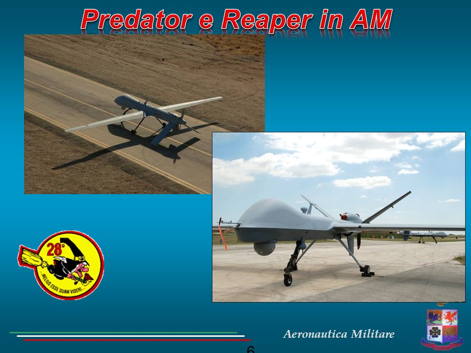 Predator e Reaper in AM ; 6