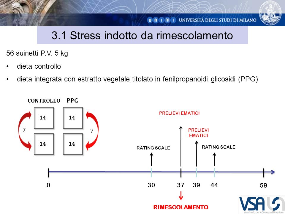 3.1 Stress indotto da rimescolamento