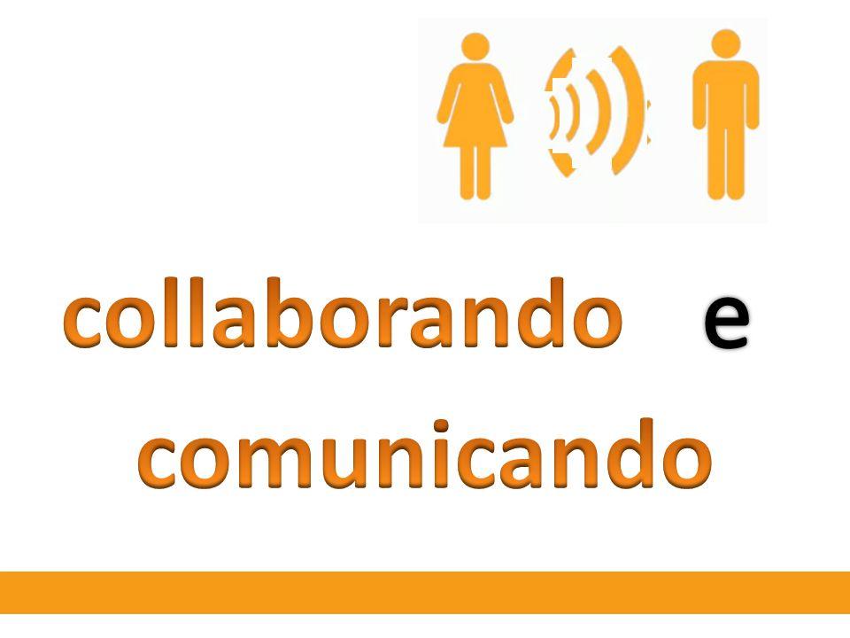 collaborando e comunicando