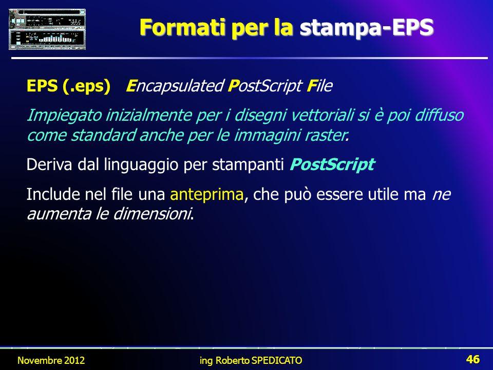 Formati per la stampa-EPS