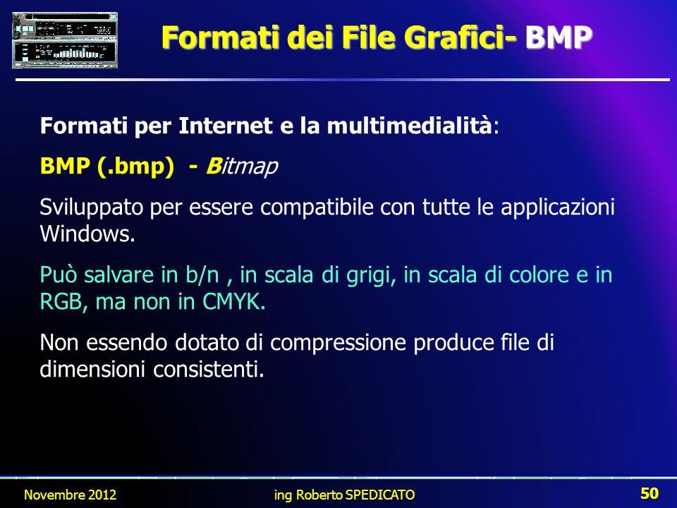 Formati dei File Grafici- BMP