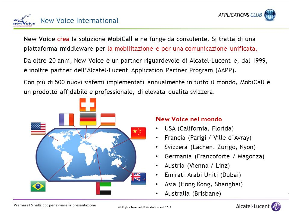New Voice International