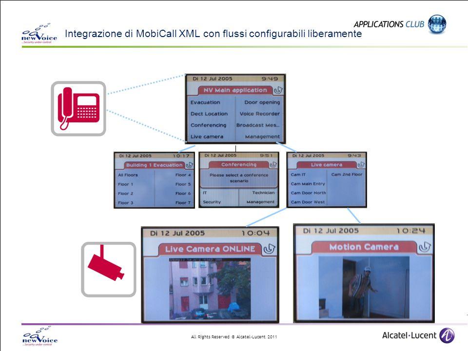 Integrazione di MobiCall XML con flussi configurabili liberamente