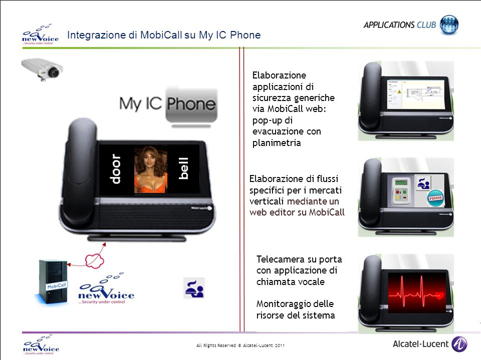 Integrazione di MobiCall su My IC Phone