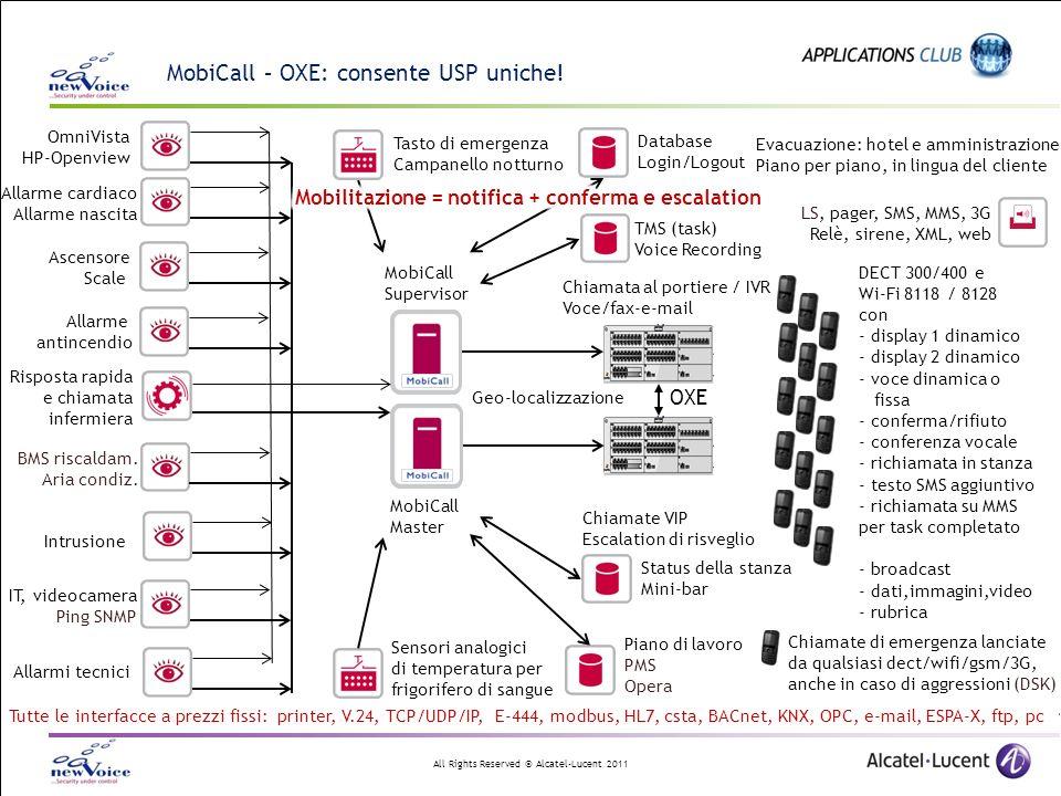 MobiCall – OXE: consente USP uniche!