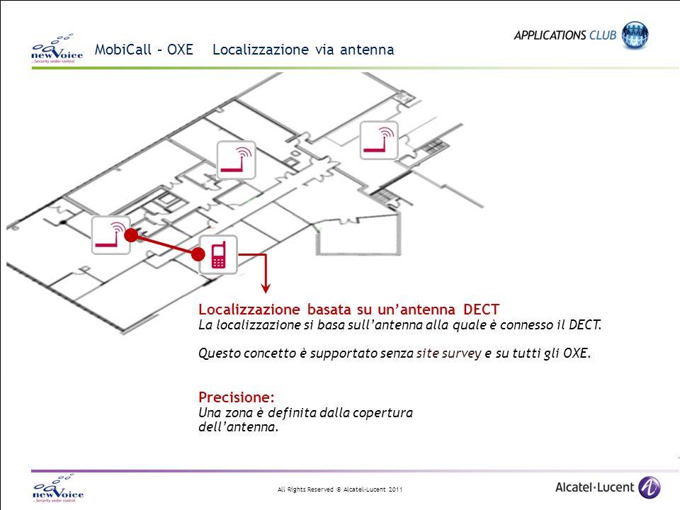 MobiCall – OXE Localizzazione via antenna