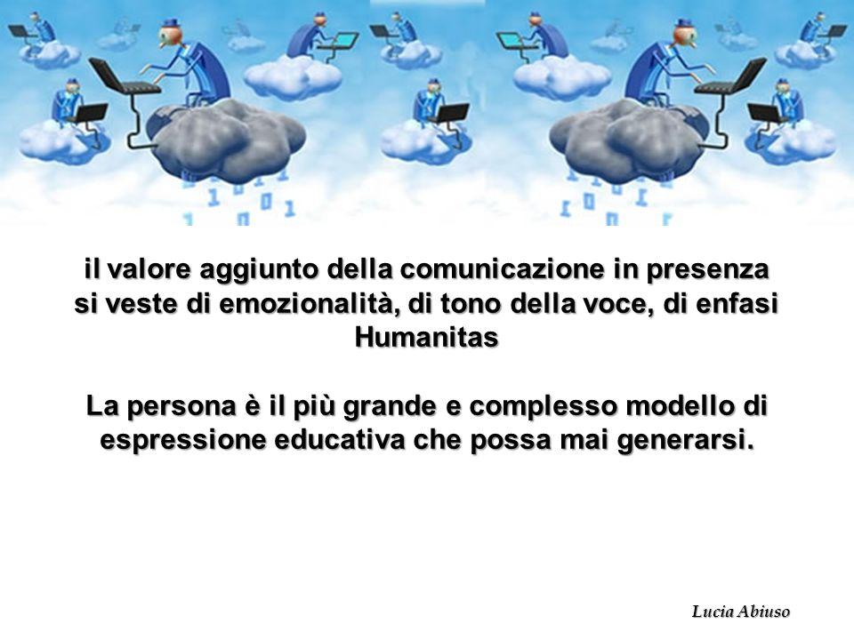 il valore aggiunto della comunicazione in presenza
