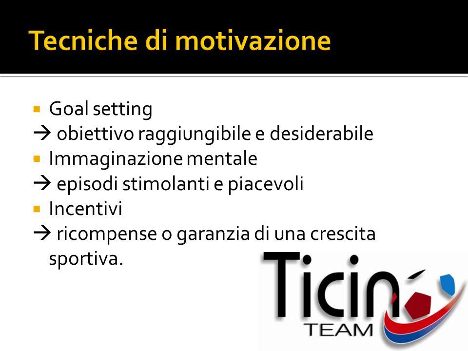 Tecniche di motivazione
