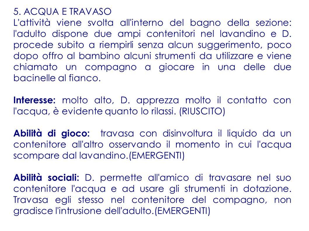 5. ACQUA E TRAVASO