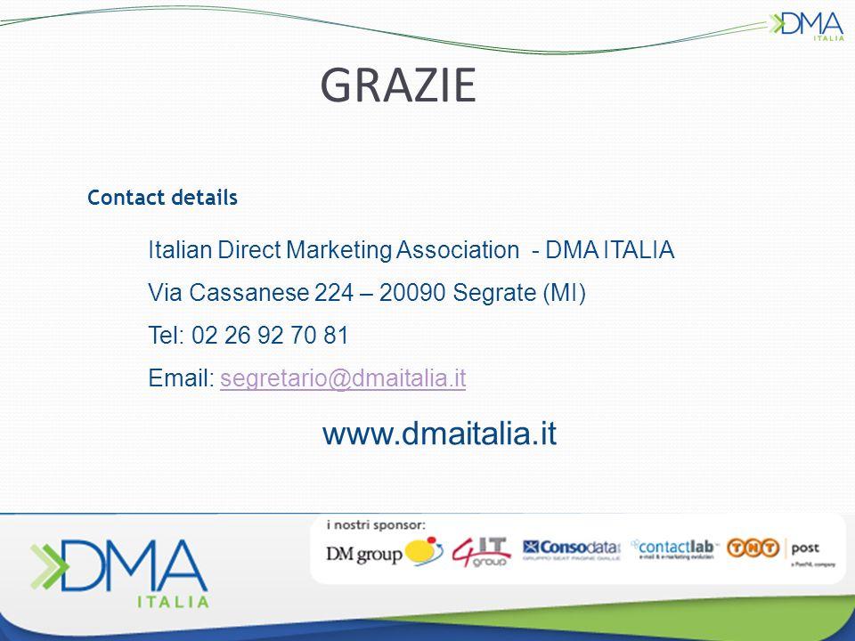 GRAZIE www.dmaitalia.it