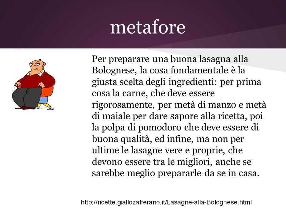metafore