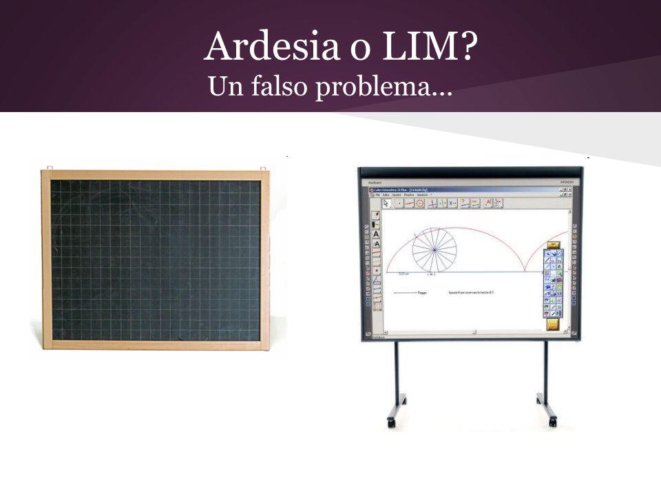 Ardesia o LIM Un falso problema...