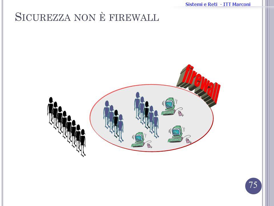 Sicurezza non è firewall