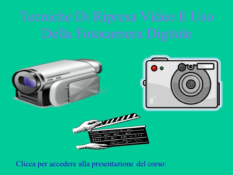 Tecniche Di Ripresa Video E Uso Della Fotocamera Digitale