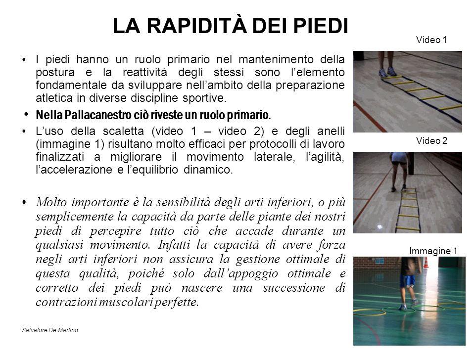 LA RAPIDITÀ DEI PIEDI Video 1.