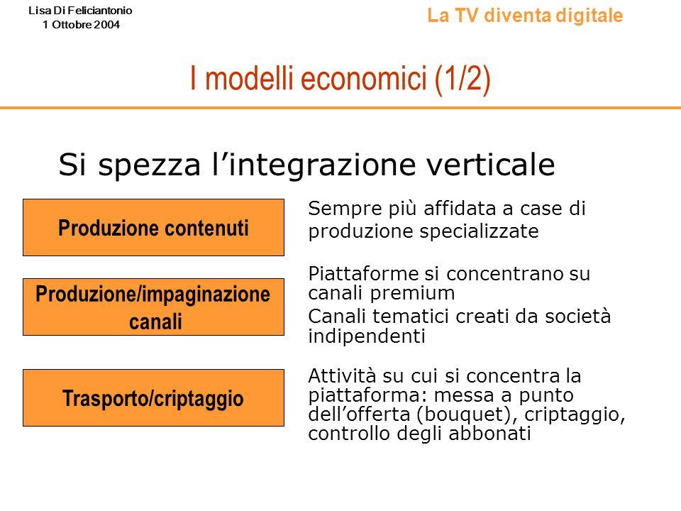 I modelli economici (1/2)
