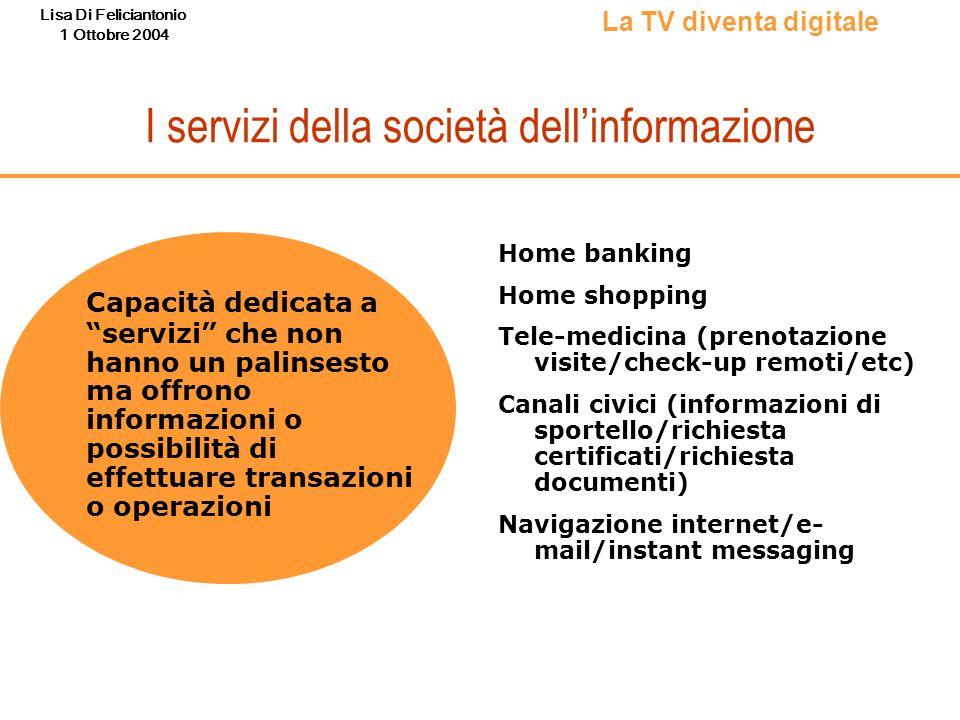 I servizi della società dell'informazione
