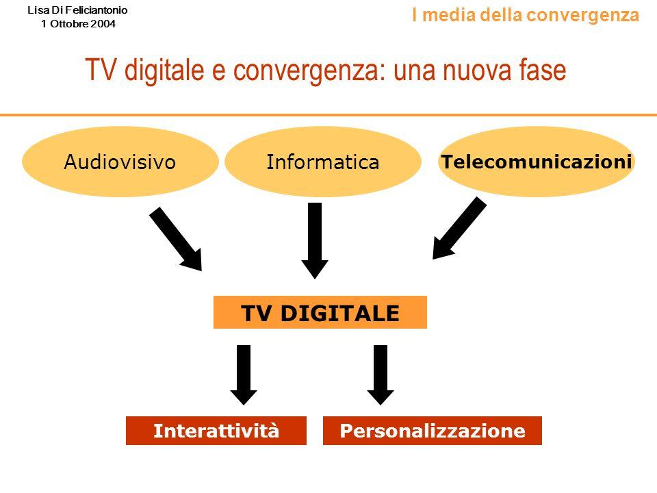 TV digitale e convergenza: una nuova fase