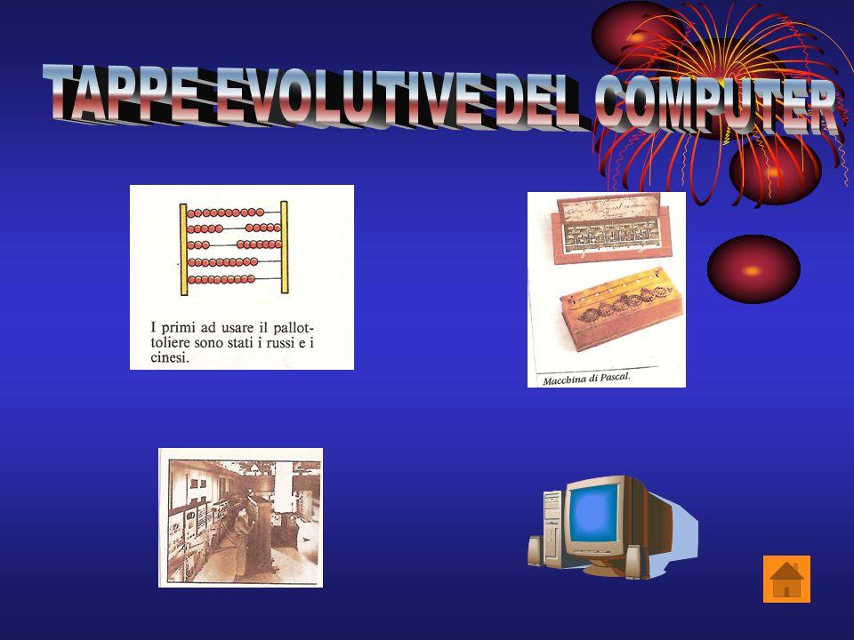 TAPPE EVOLUTIVE DEL COMPUTER